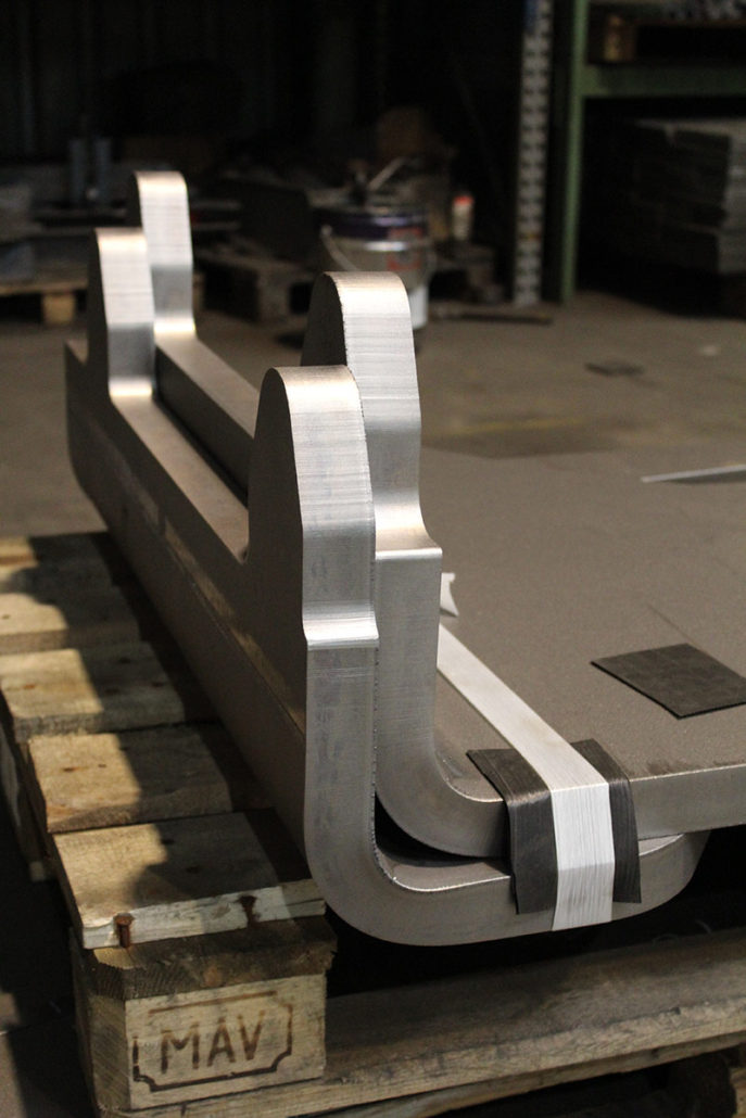 Folding part made of S355 (40 mm)