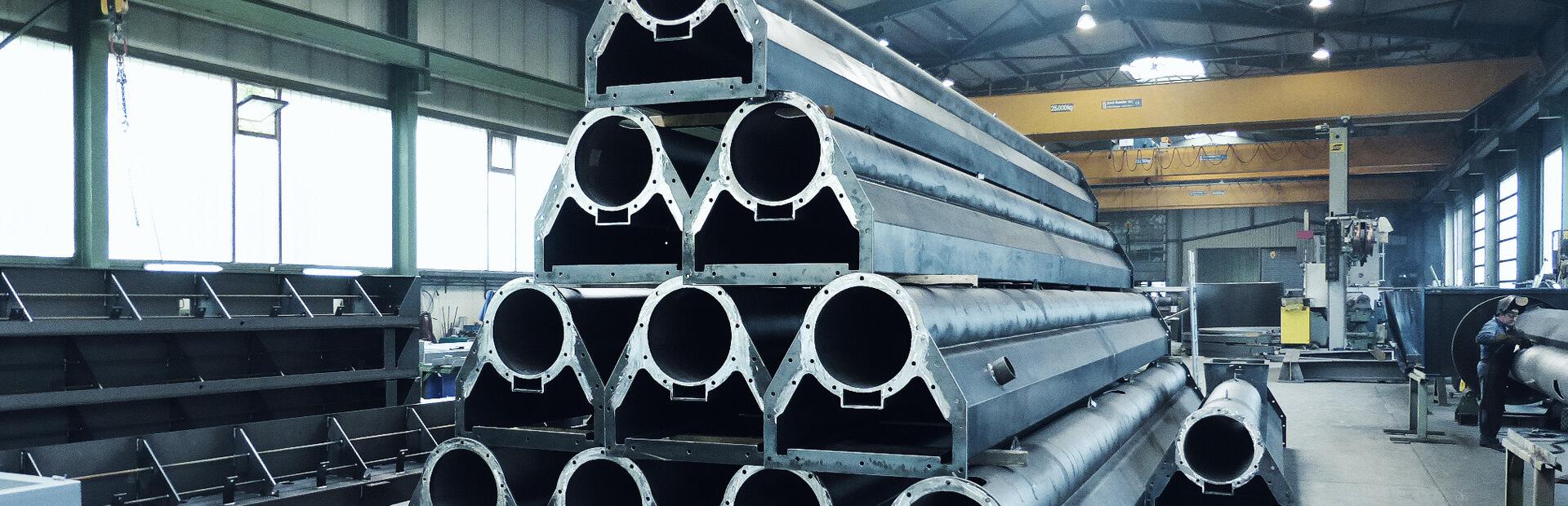 Anlagenbau: Dickwandige Schweißkonstruktionen, Umhausungen aus Blech