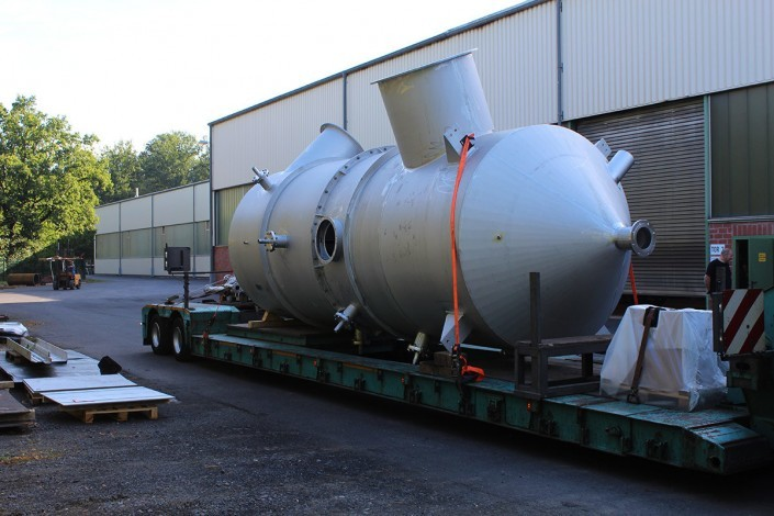 Transporting a gas saturator
