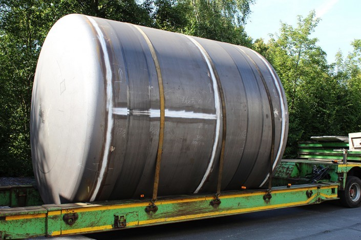 Water tank in-delivery