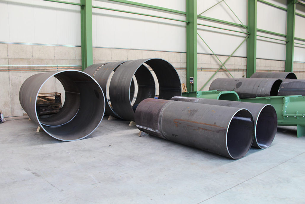 Tank sections P 265 GH