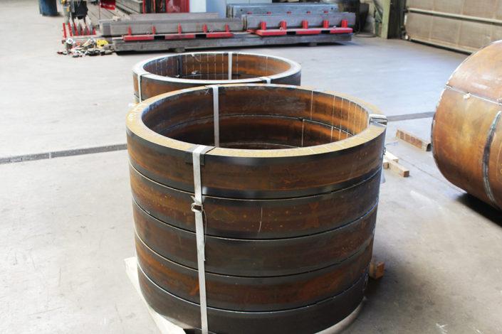 Gebogene Ringe 70 mm