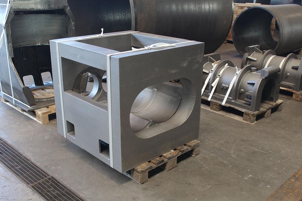 Maschinengehäuse für die Ziegeleiindustrie