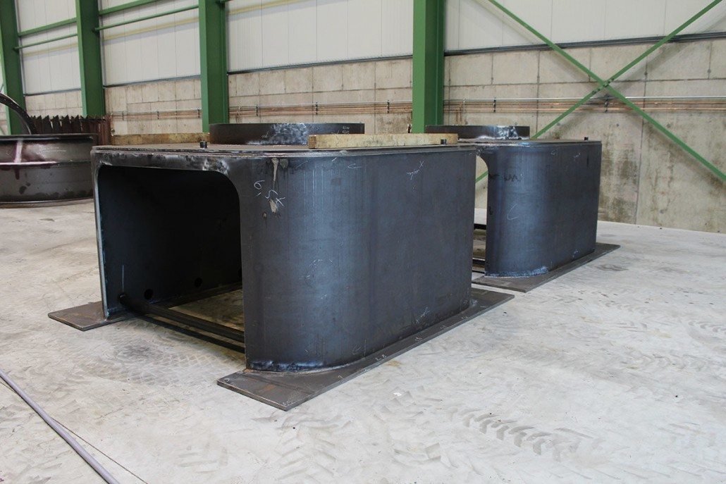 Mühlensockel für Kohlemühle