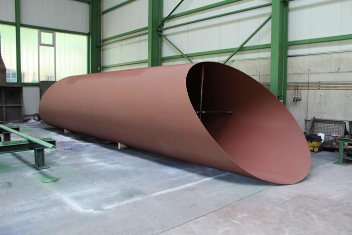 Pipeline bridge element