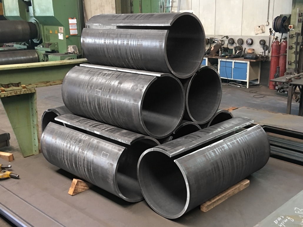 Oval tubes for tank boilers made of heat-resistant steel - sheet thickness 25 mm