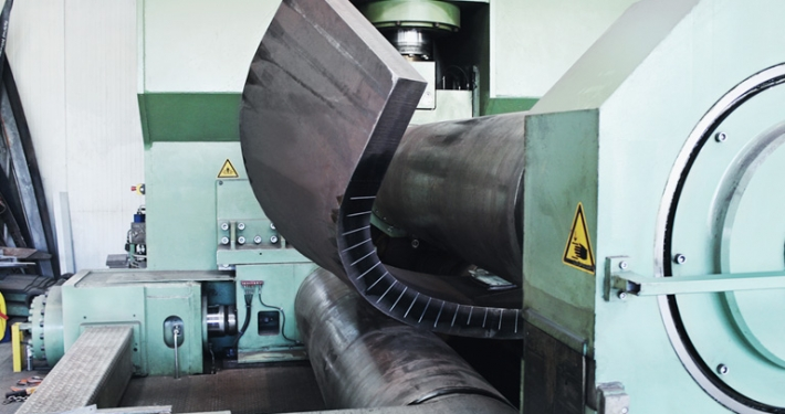 Metal forming: rolled parts, shears and round rolls