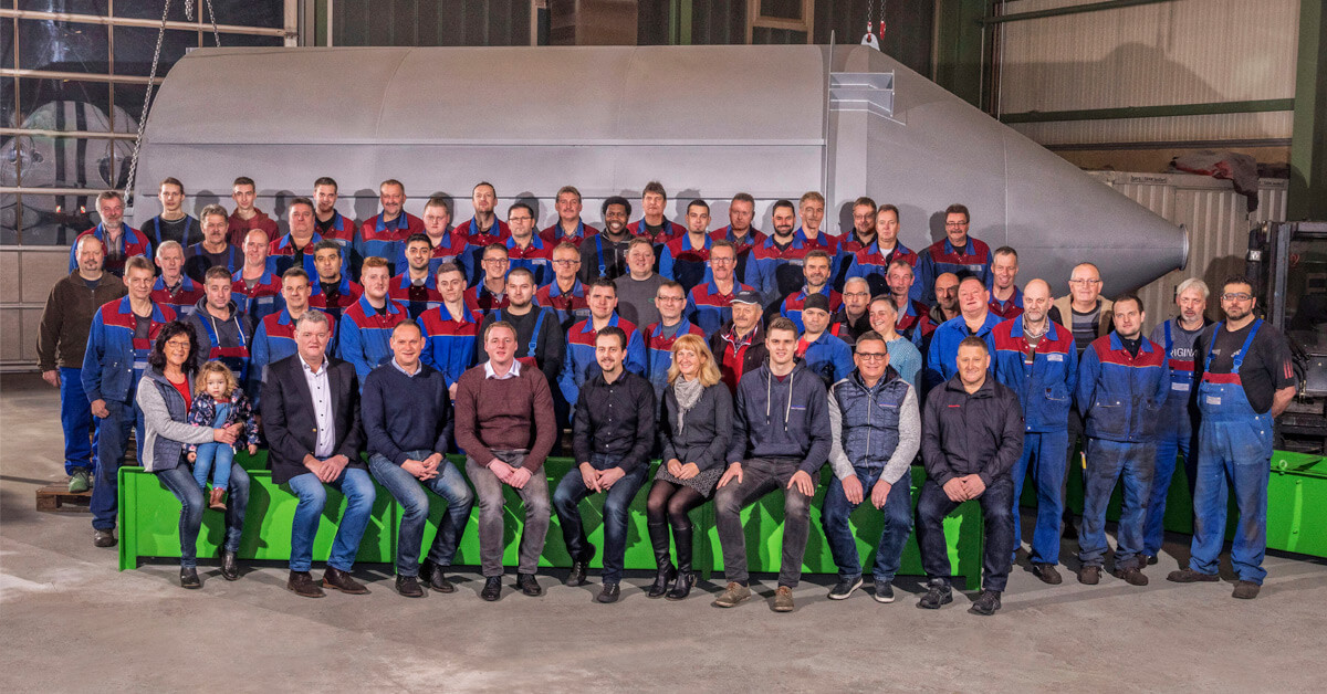 Das Team der Mudersbach GmbH & Co. KG