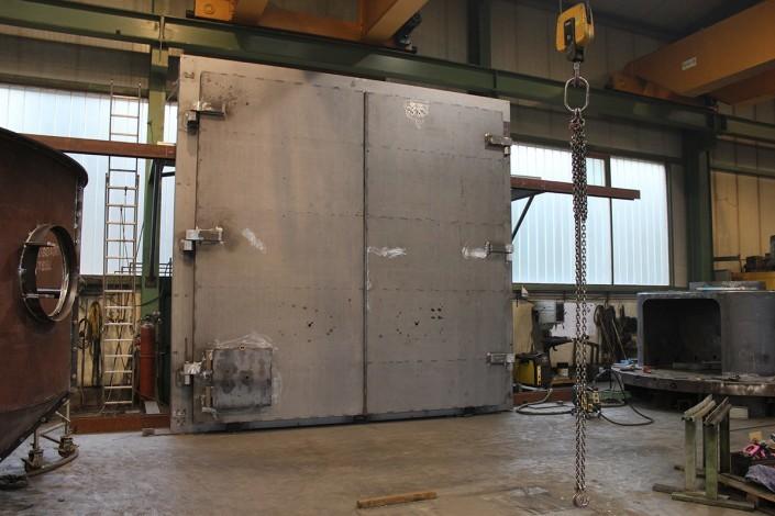 5 x 6 m vault door